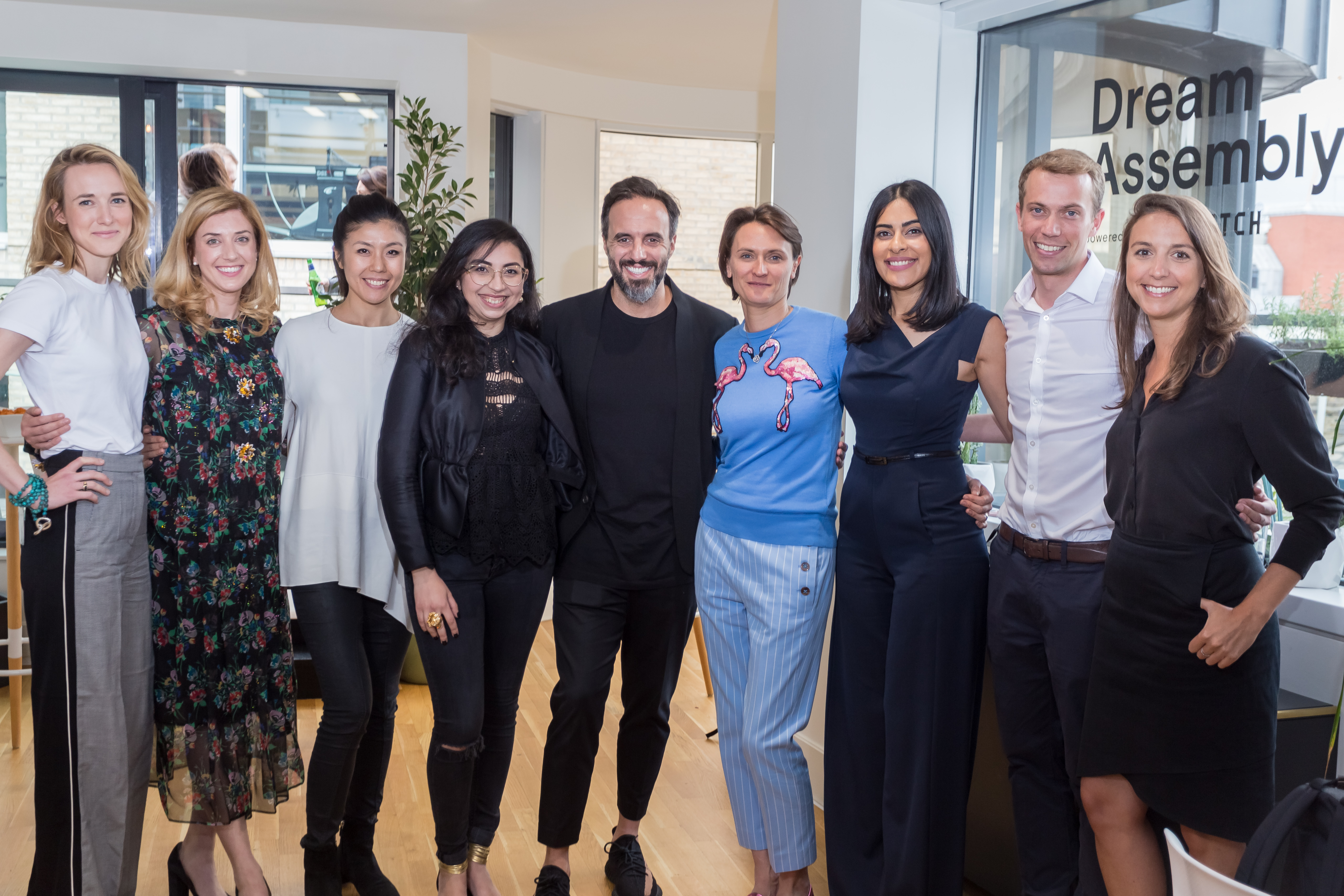 Farfetch founder José Neves with Dream Assembly cohort 2 startups.jpg